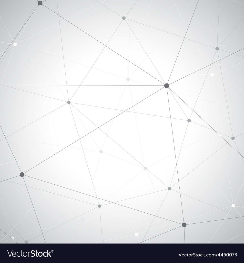 Geometric gray background molecule and vector | Price: 1 Credit (USD $1)