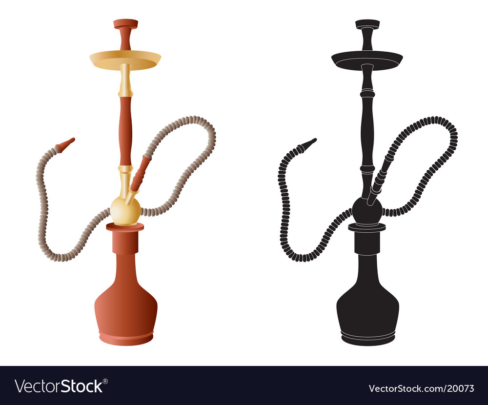 Hookah vector | Price: 1 Credit (USD $1)