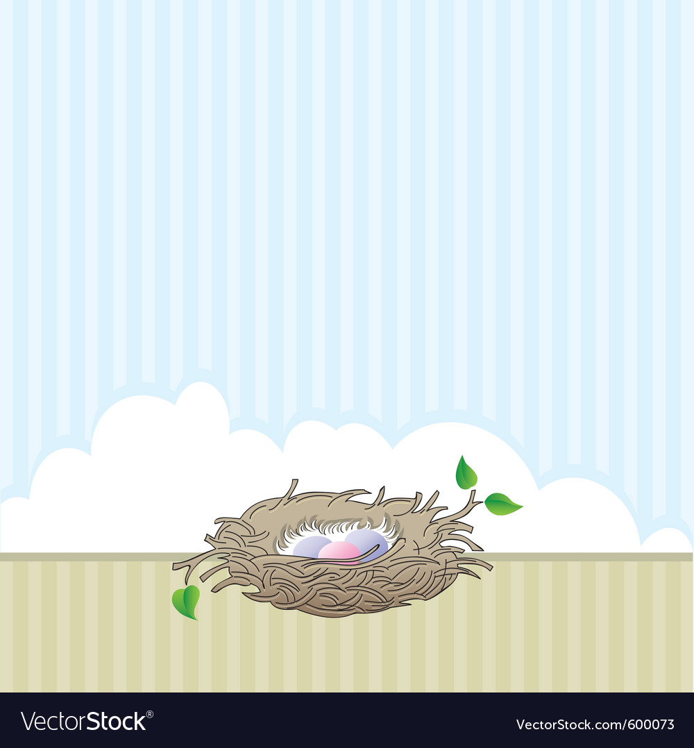 Nest vector | Price: 1 Credit (USD $1)