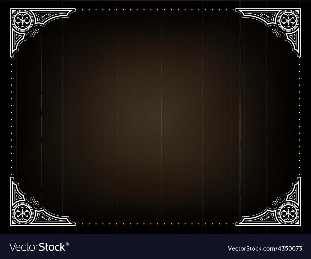 Old movie back frame vector   Price: 1 Credit (USD $1)
