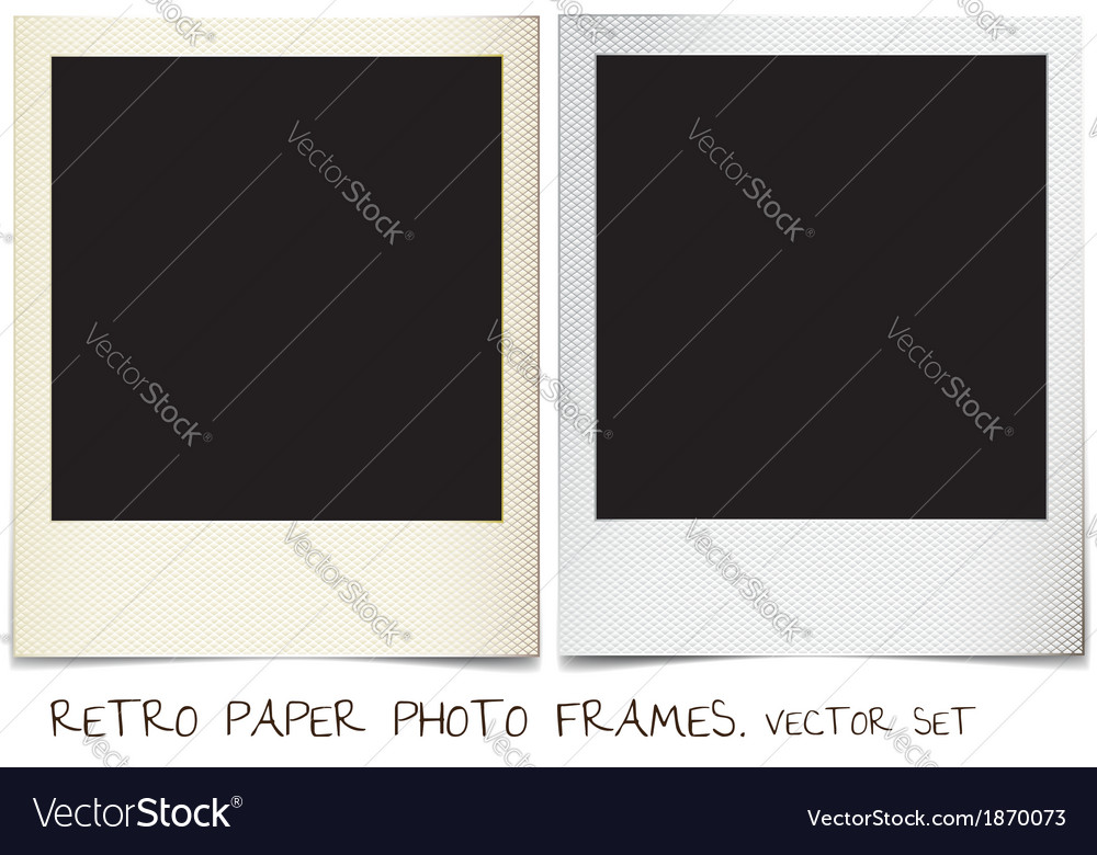 Photo frames vector | Price: 1 Credit (USD $1)