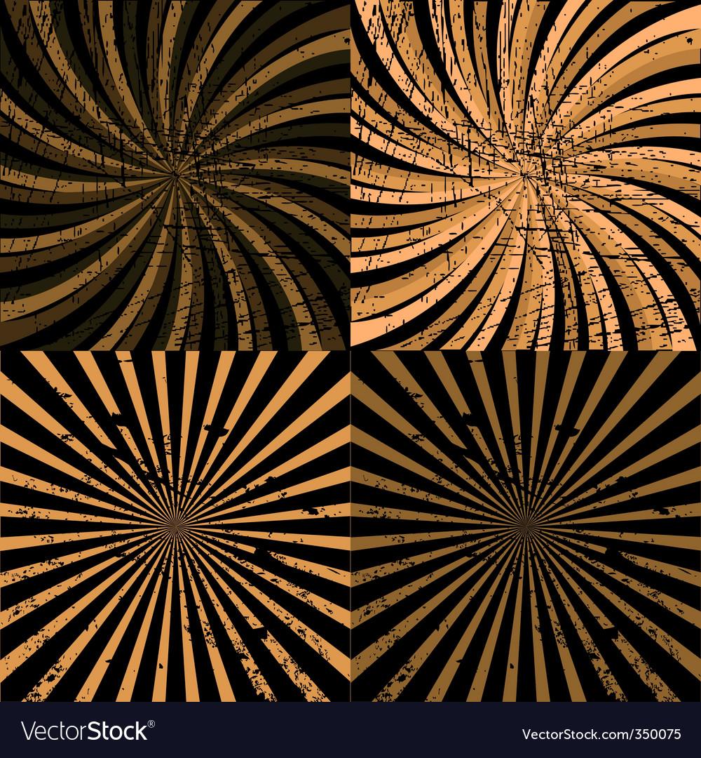 Twirls vector