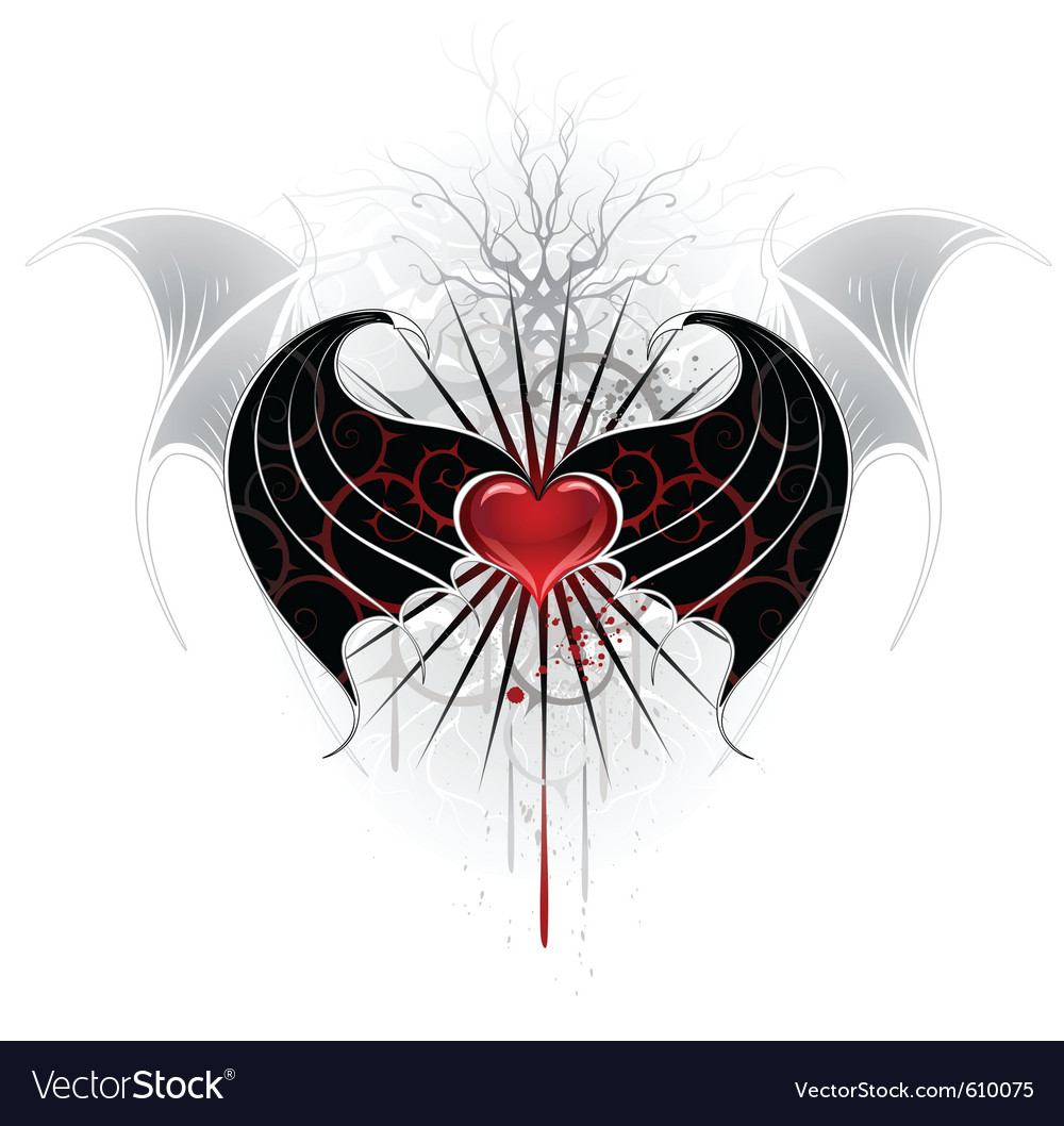 Vampire wings vector | Price: 3 Credit (USD $3)