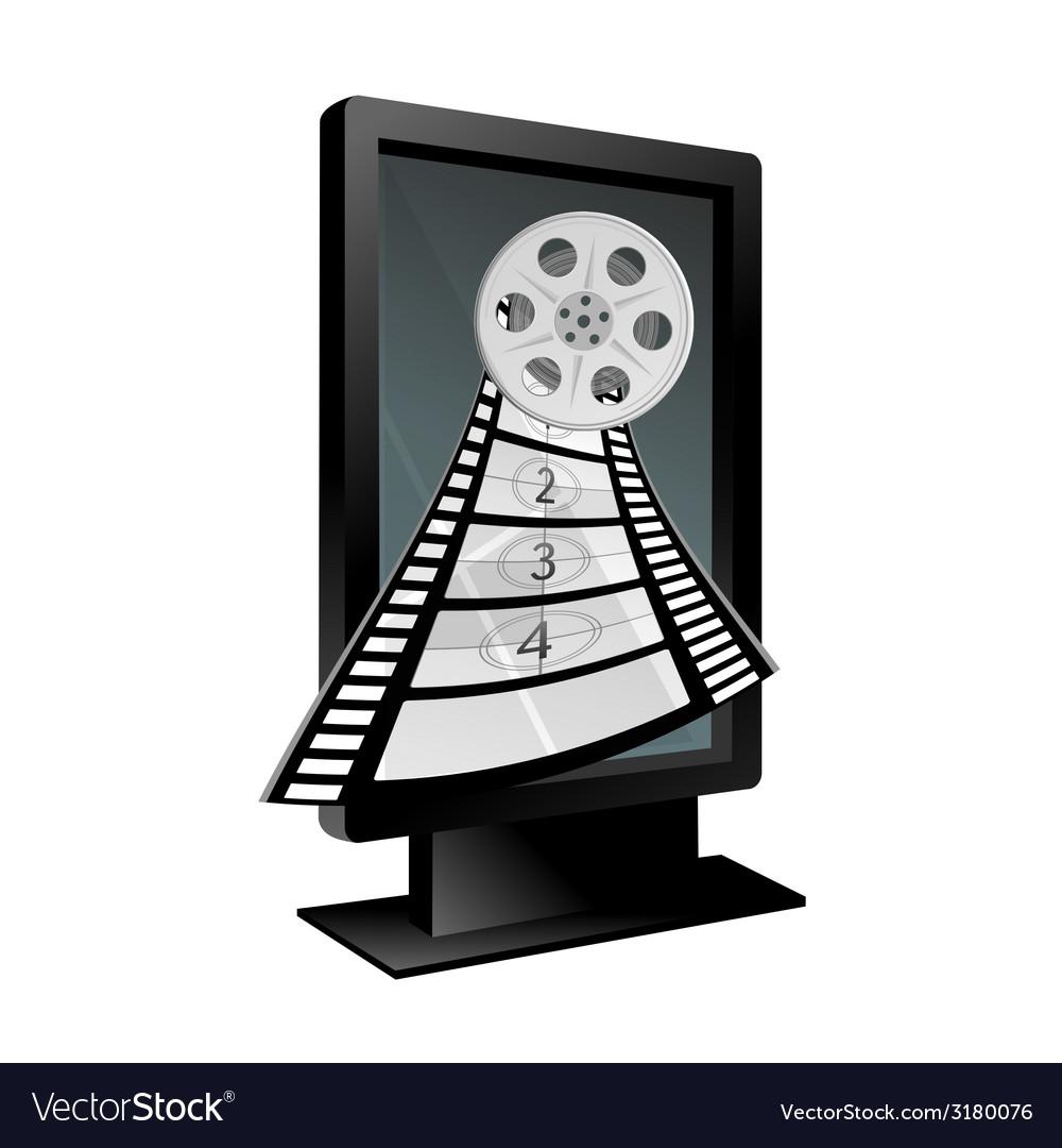 Film tape vector | Price: 1 Credit (USD $1)