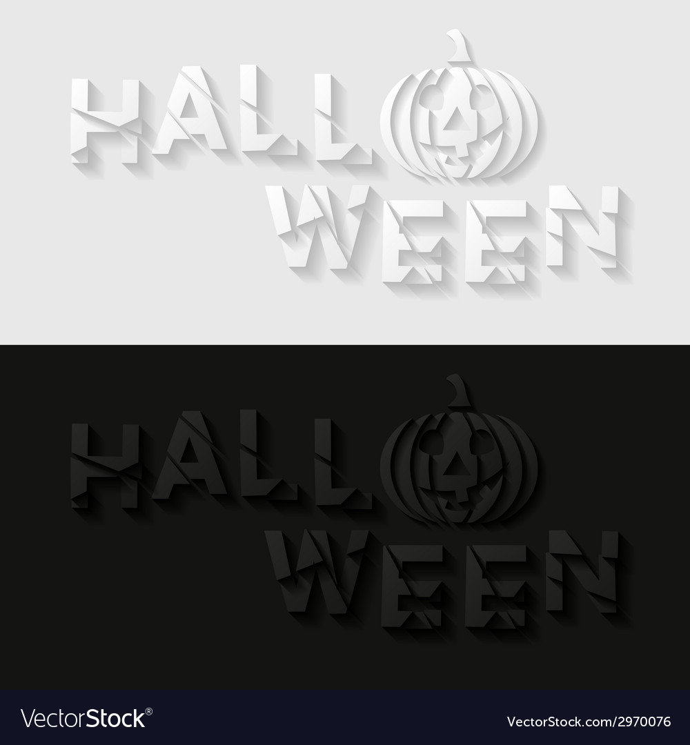 Set of halloween cards vector | Price: 1 Credit (USD $1)