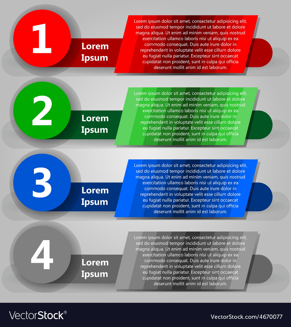 3d infografic colorful vector | Price: 1 Credit (USD $1)