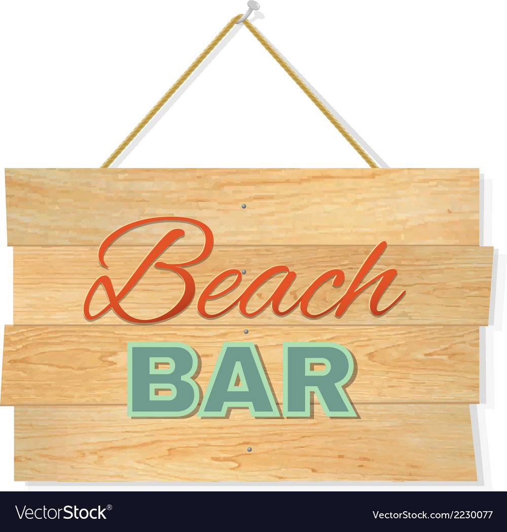 Beach wood boards vector | Price: 1 Credit (USD $1)