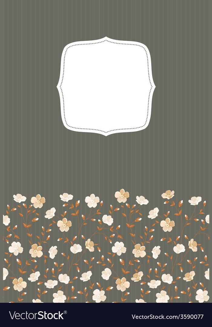 Invitation gray background vector | Price: 1 Credit (USD $1)