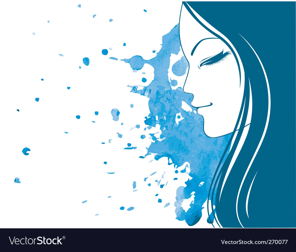 Profile blob vector | Price: 1 Credit (USD $1)
