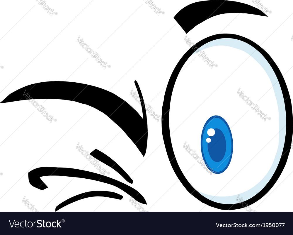 Set of cartoon eyes vector | Price: 1 Credit (USD $1)