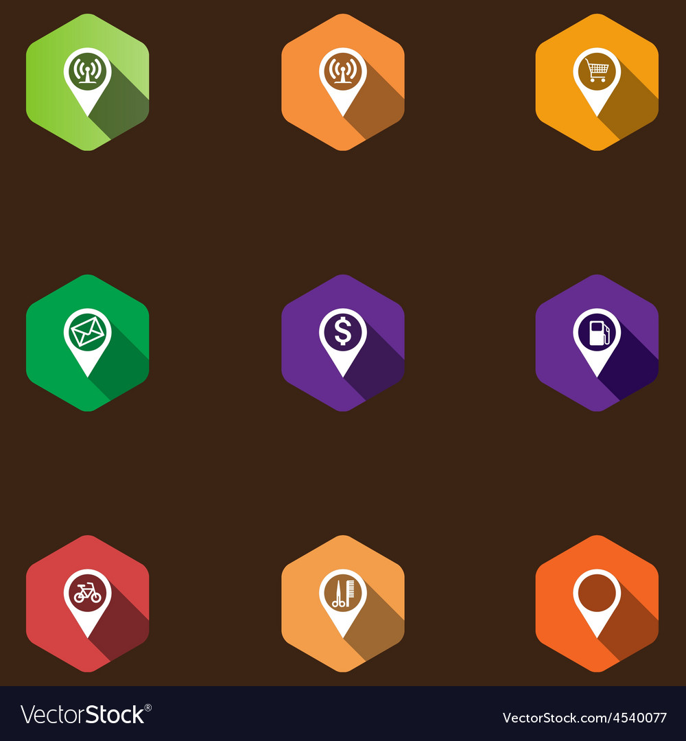 Set of information icons vector | Price: 1 Credit (USD $1)