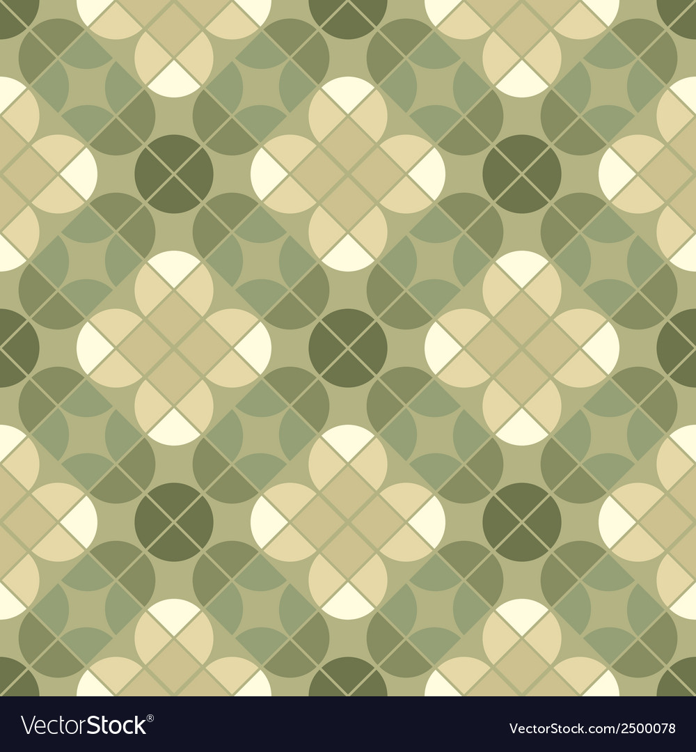 Geometric floral background ornamental abstract vector | Price: 1 Credit (USD $1)