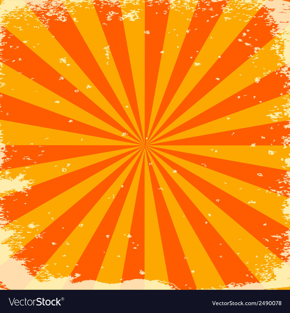 Orange stripes vector