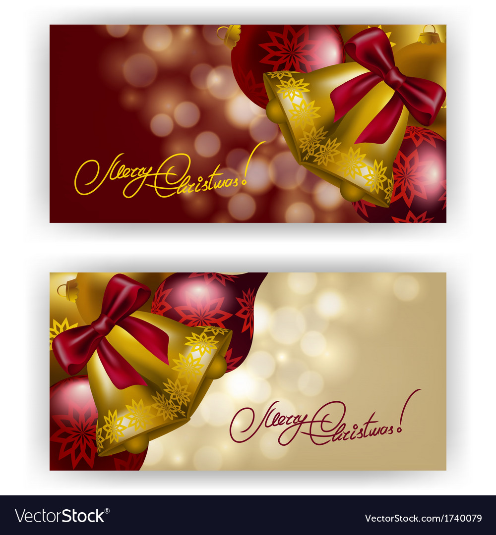 Christmas background with baubles for inviations vector | Price: 1 Credit (USD $1)