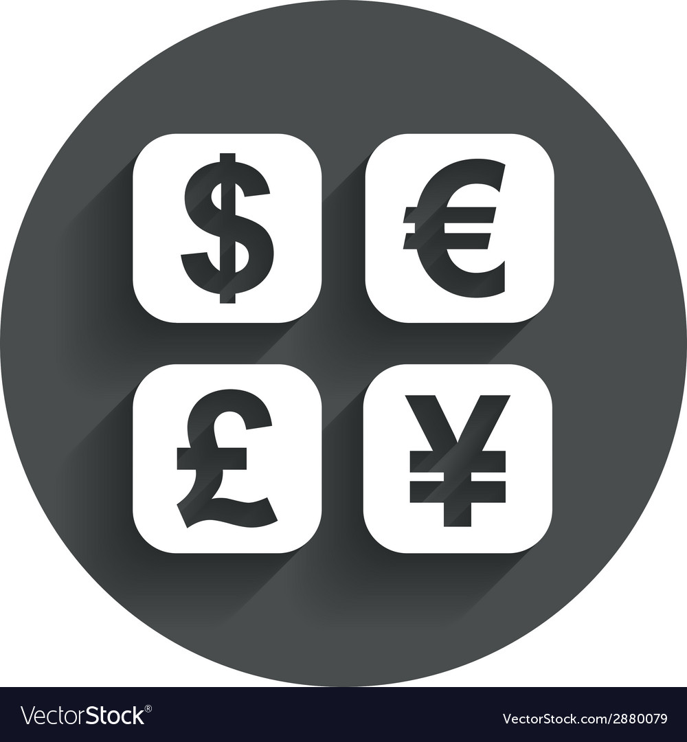 Currency exchange sign icon currency converter vector | Price: 1 Credit (USD $1)