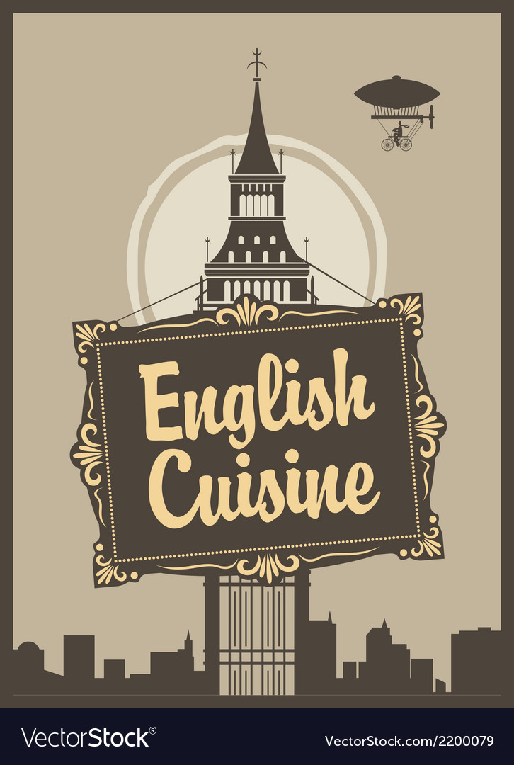 English cuisine vector | Price: 1 Credit (USD $1)