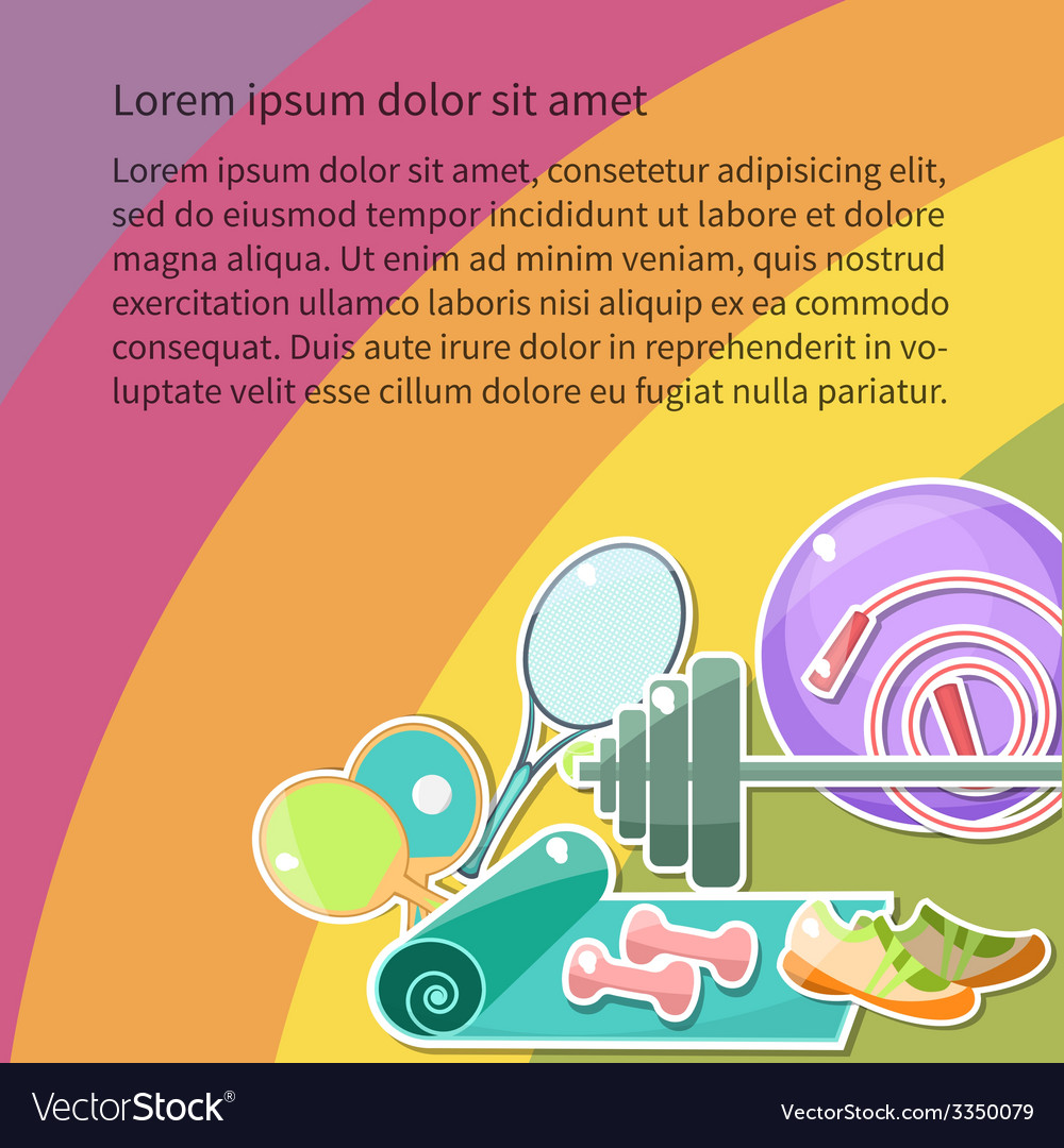 Fitnessgoal vector   Price: 1 Credit (USD $1)