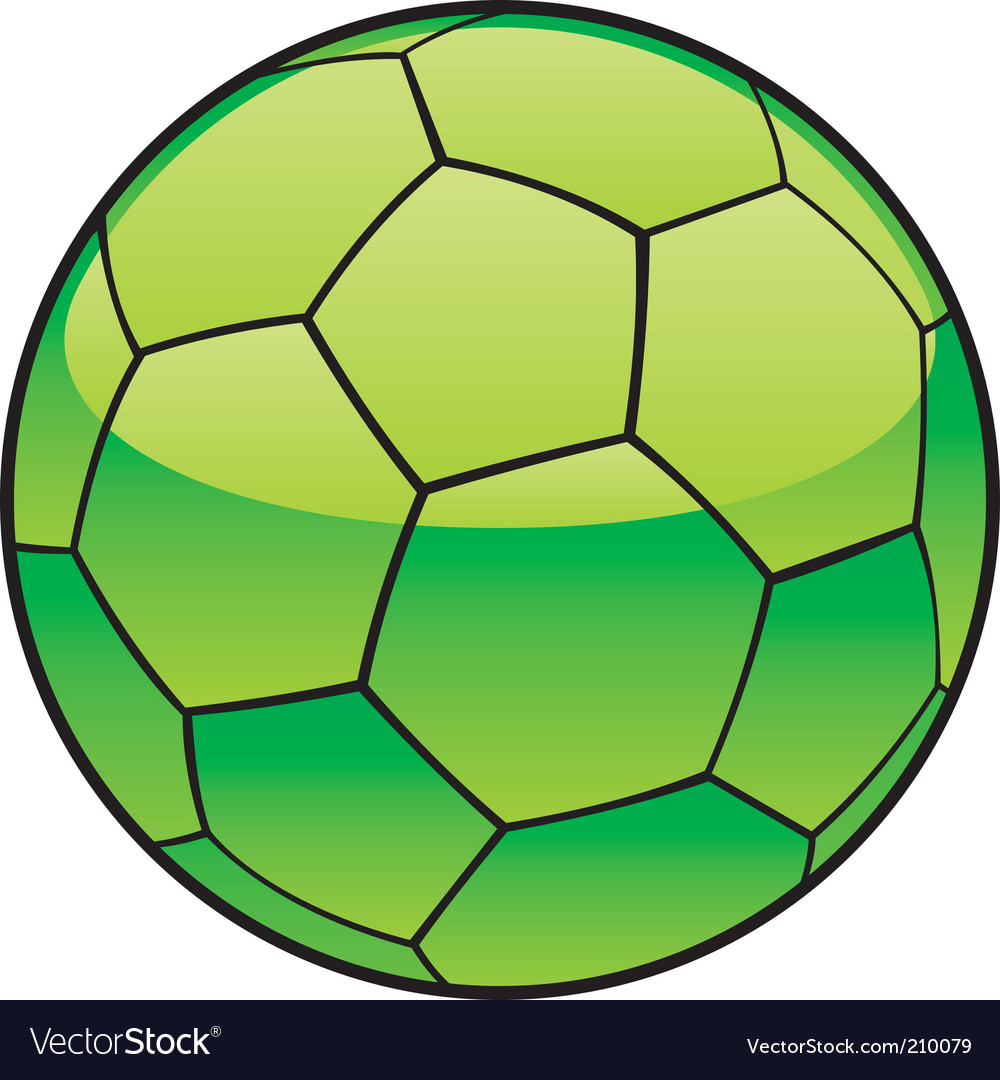 Libya flag on soccer ball vector | Price: 1 Credit (USD $1)