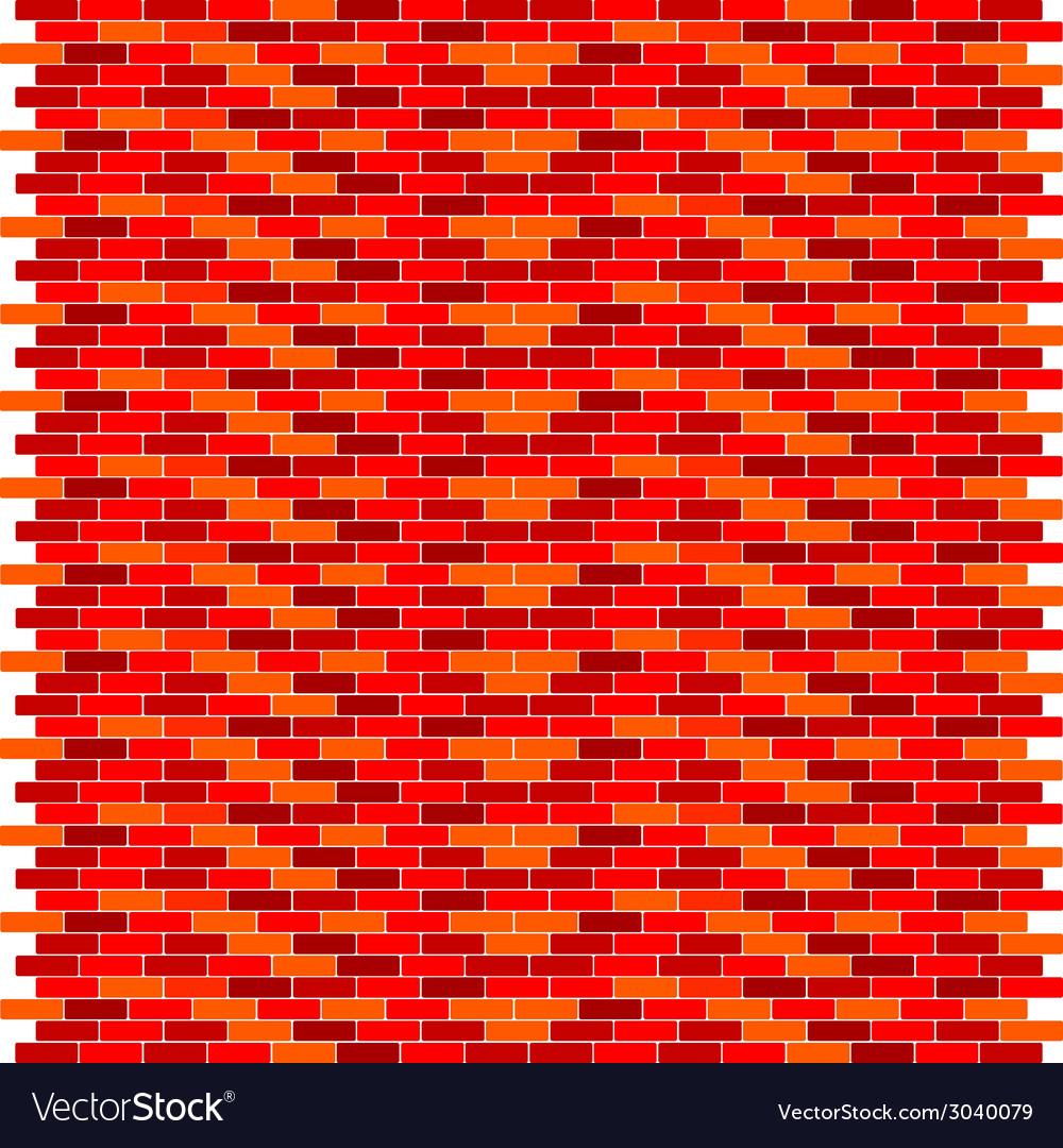 Red brick wall vector   Price: 1 Credit (USD $1)