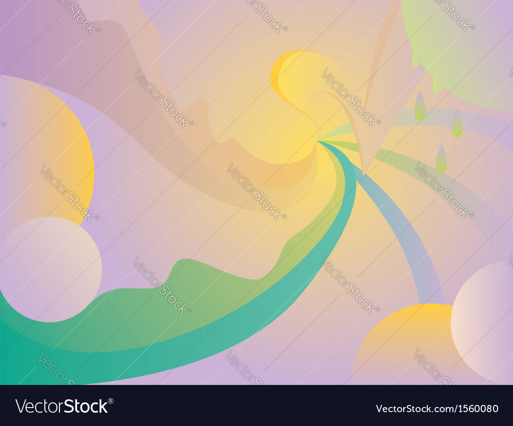 Abstract curvy background vector | Price: 1 Credit (USD $1)