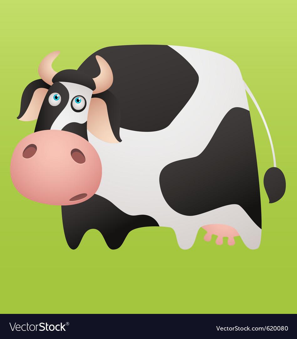 Cartoon cow vector | Price: 1 Credit (USD $1)