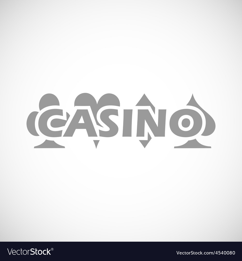 Casino black icon vector | Price: 1 Credit (USD $1)