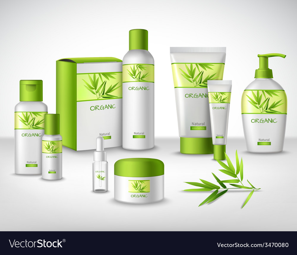 Cosmetics decorative set vector | Price: 1 Credit (USD $1)