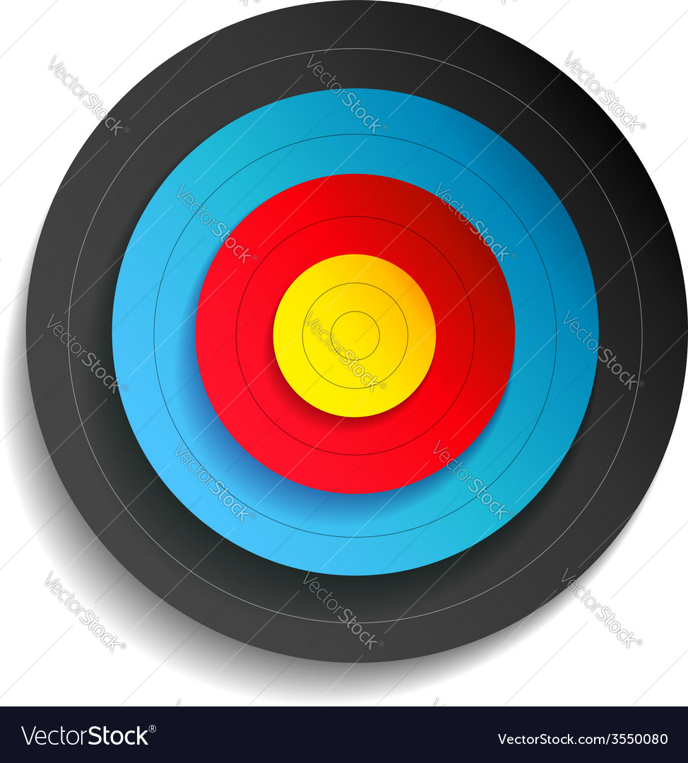 Target color vector | Price: 1 Credit (USD $1)