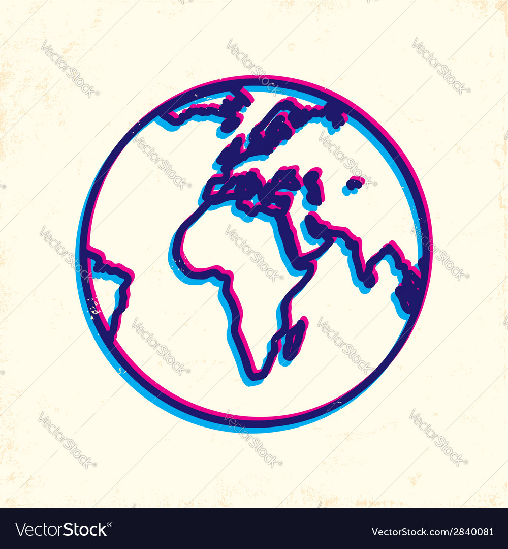 Earth 3d vector | Price: 1 Credit (USD $1)
