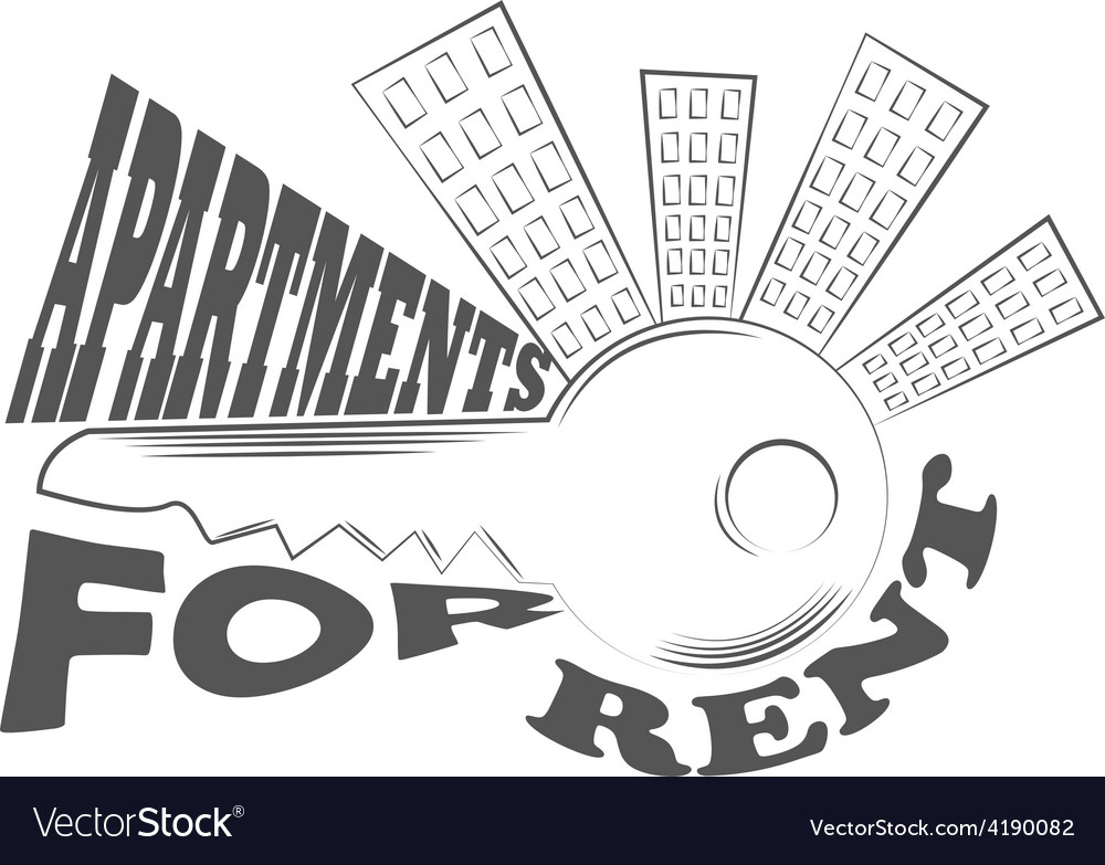 Agency fact apartments logo and pictures vector | Price: 1 Credit (USD $1)