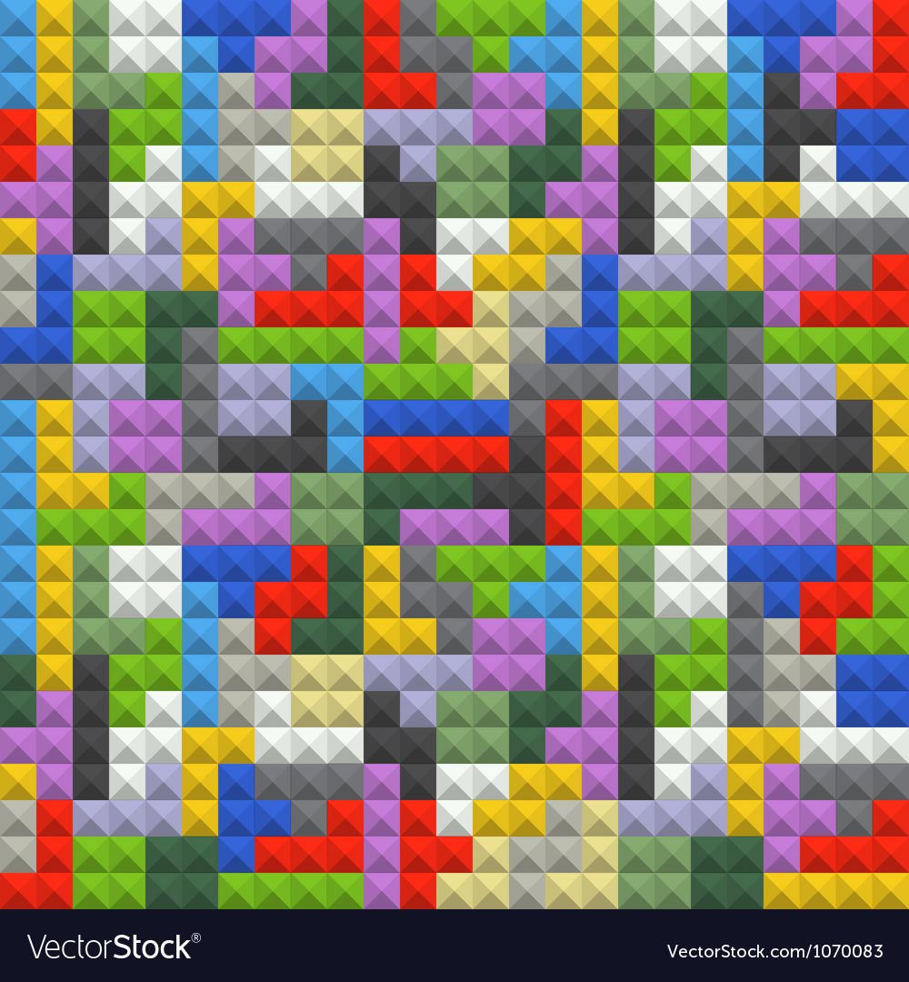 Color blocks vector | Price: 1 Credit (USD $1)