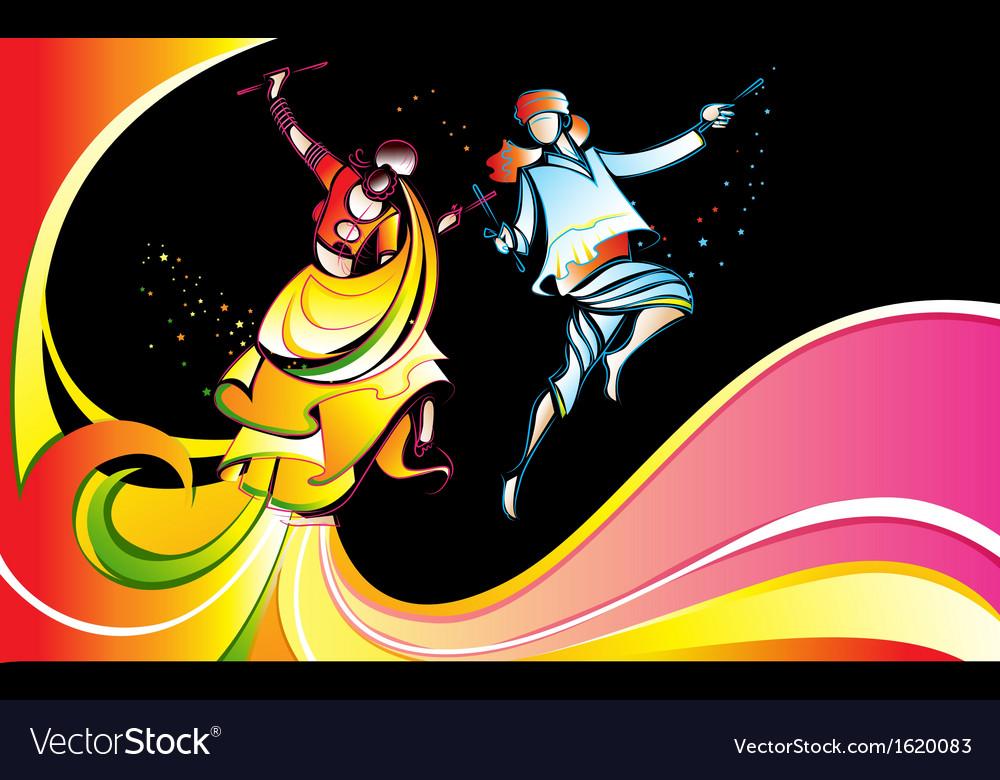Colorful dandiya vector   Price: 1 Credit (USD $1)