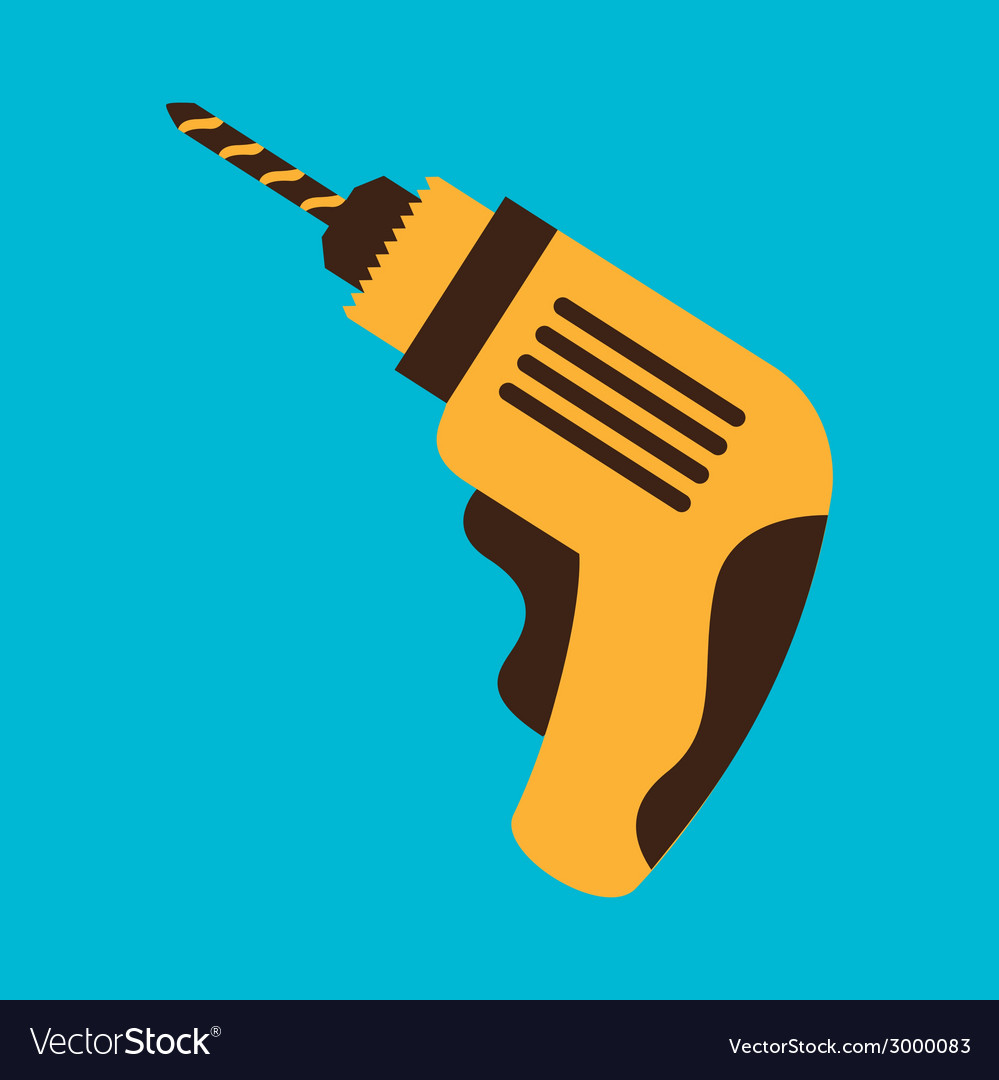 Drill design vector | Price: 1 Credit (USD $1)