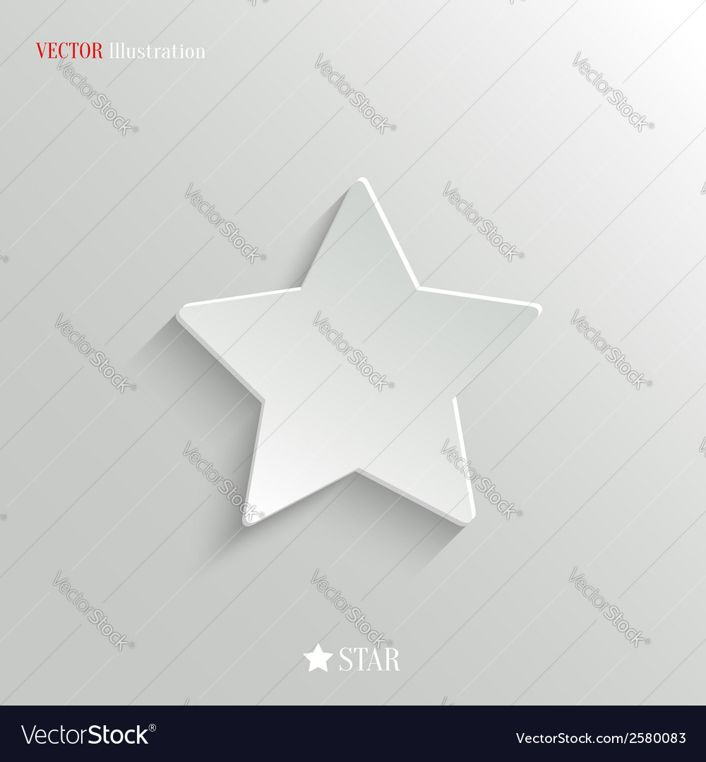Star icon - web background vector | Price: 1 Credit (USD $1)