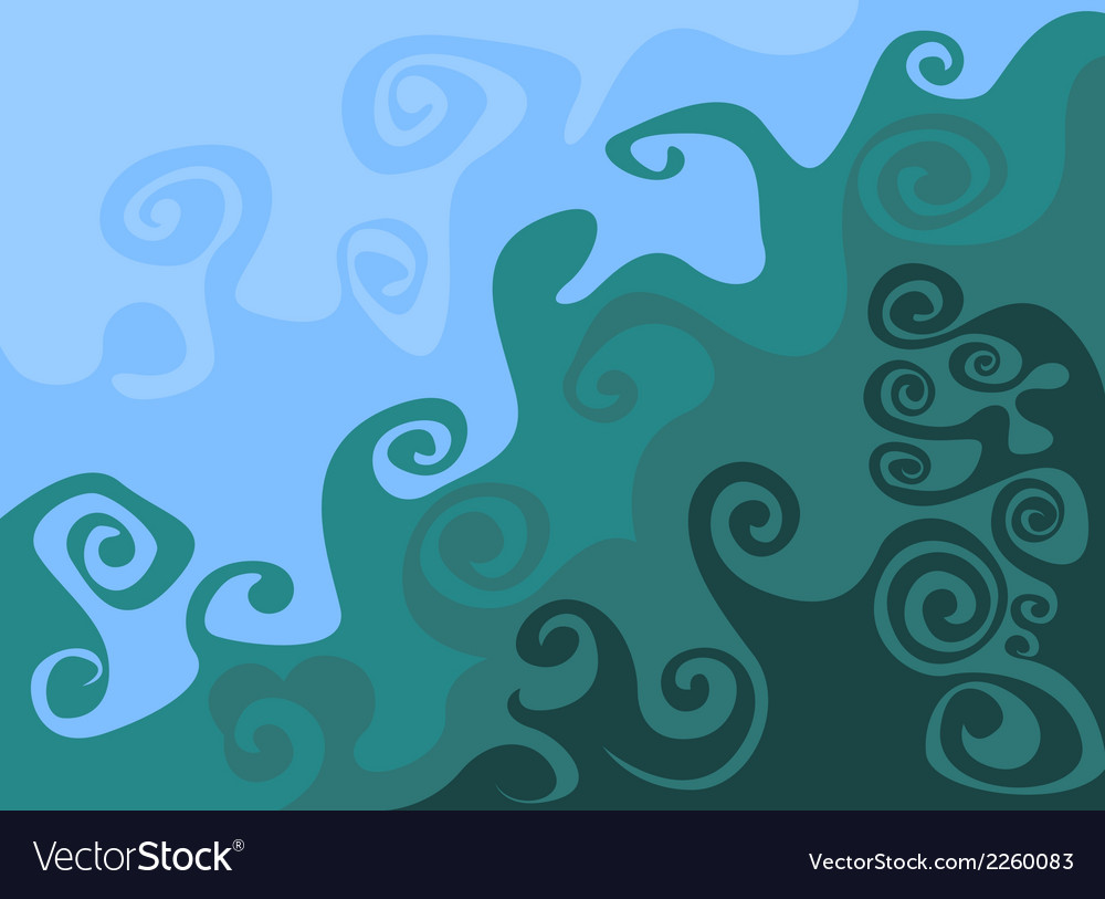 Wave pattern abstract background vector