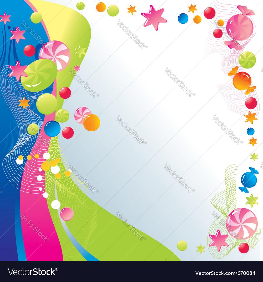 Sweet celebratory design vector | Price: 1 Credit (USD $1)