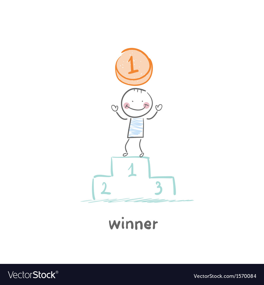 Winner vector | Price: 1 Credit (USD $1)