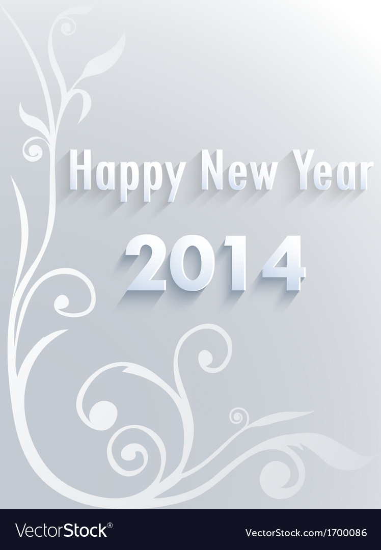 2013 paper folding with letter happy new year vector | Price: 1 Credit (USD $1)