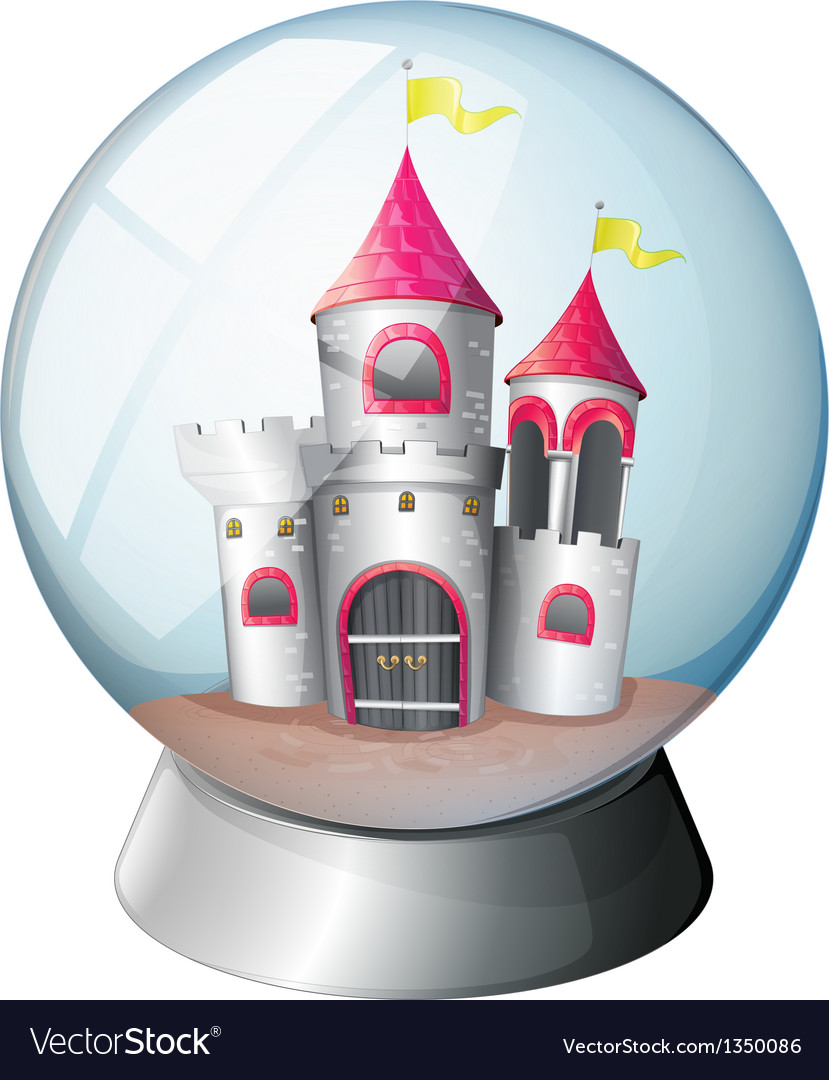 A palace inside a dome vector | Price: 1 Credit (USD $1)