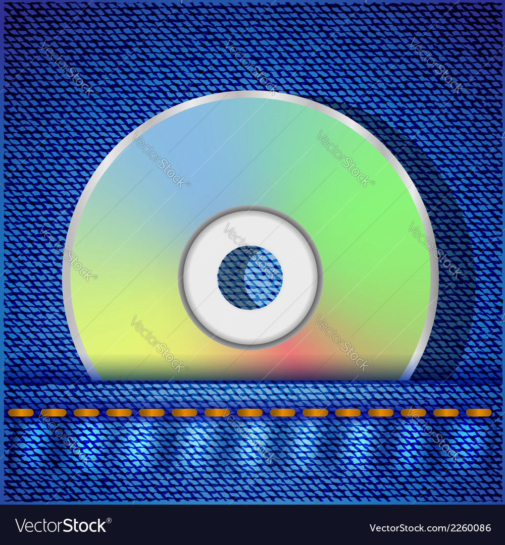 Cd disc vector | Price: 1 Credit (USD $1)