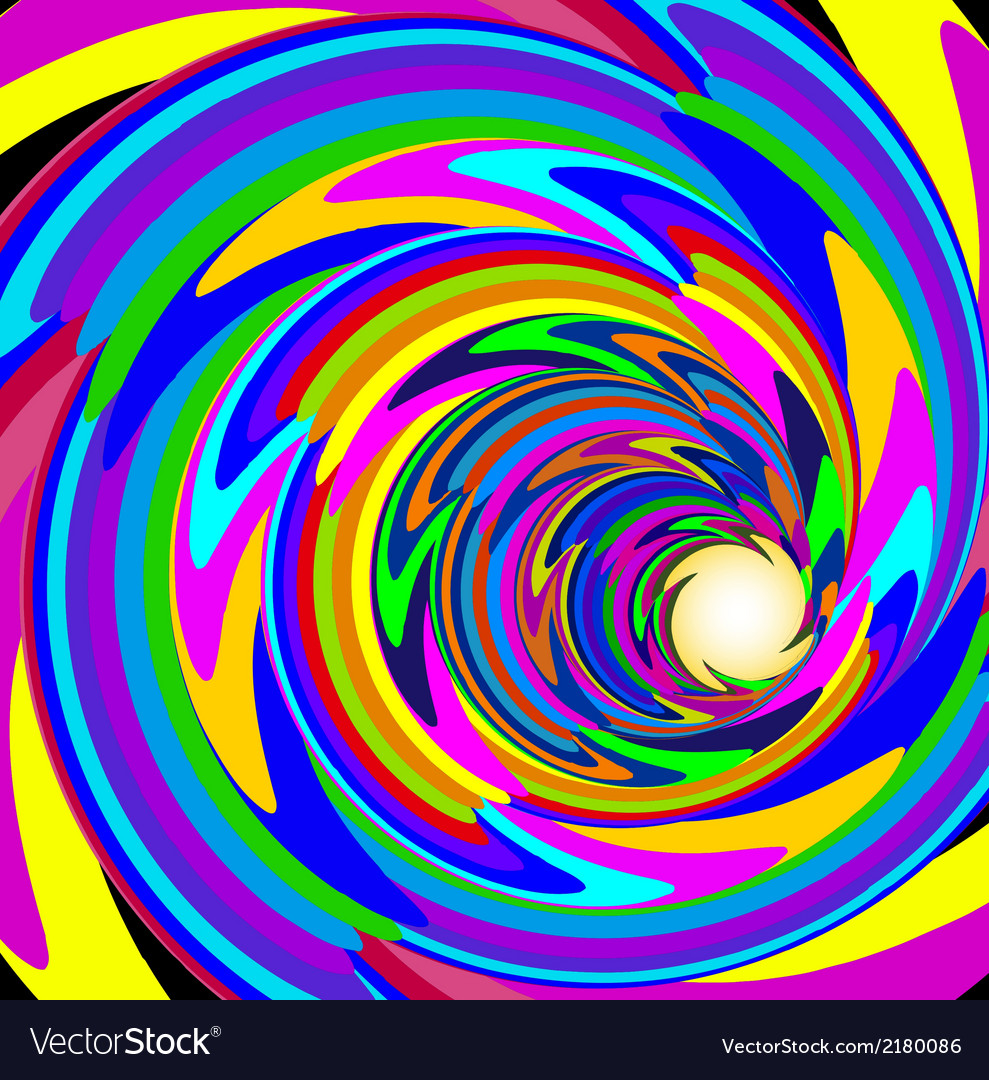 Cosmic background with bright spiral vector | Price: 1 Credit (USD $1)