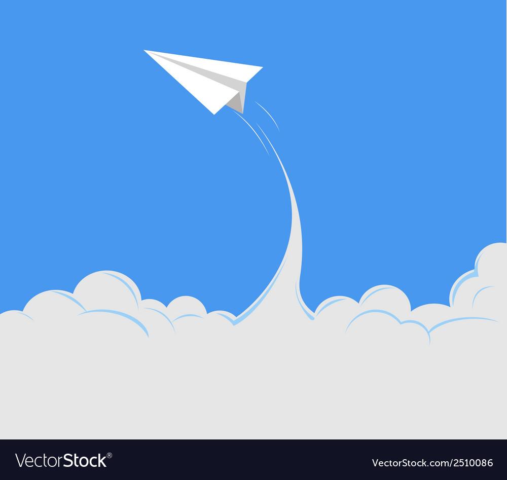 Paper plane 1 vector   Price: 1 Credit (USD $1)