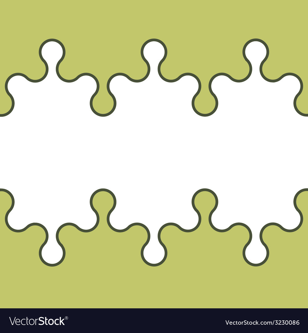 Seamless puzzle wallpaper vector | Price: 1 Credit (USD $1)