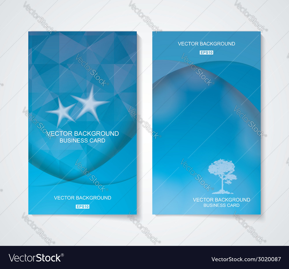 Abstract business cool blue banner set vector   Price: 1 Credit (USD $1)