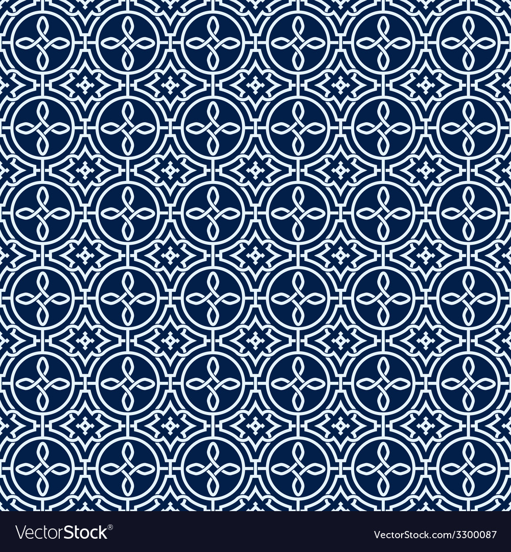 Arabic seamless ornament abstract background vector | Price: 1 Credit (USD $1)