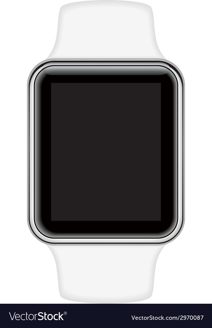 Isolated image of smart watch vector | Price: 1 Credit (USD $1)
