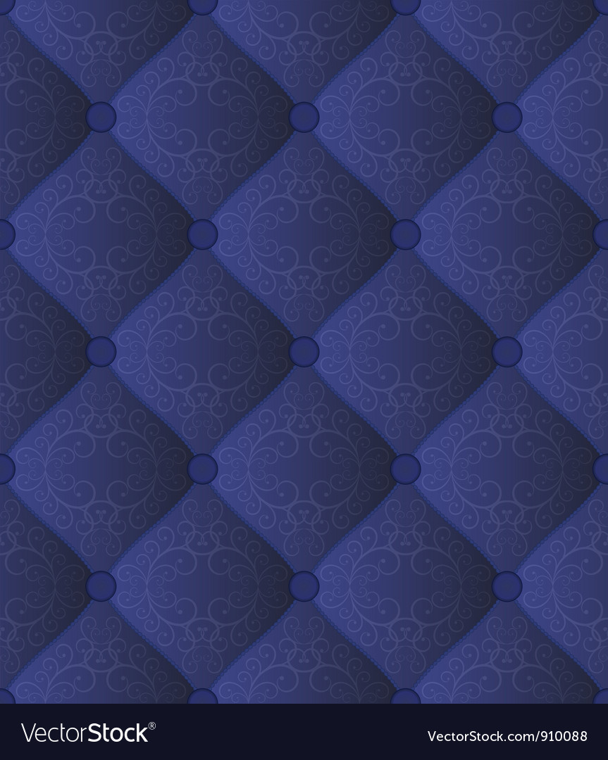 Quilted blue fabric vector | Price: 1 Credit (USD $1)