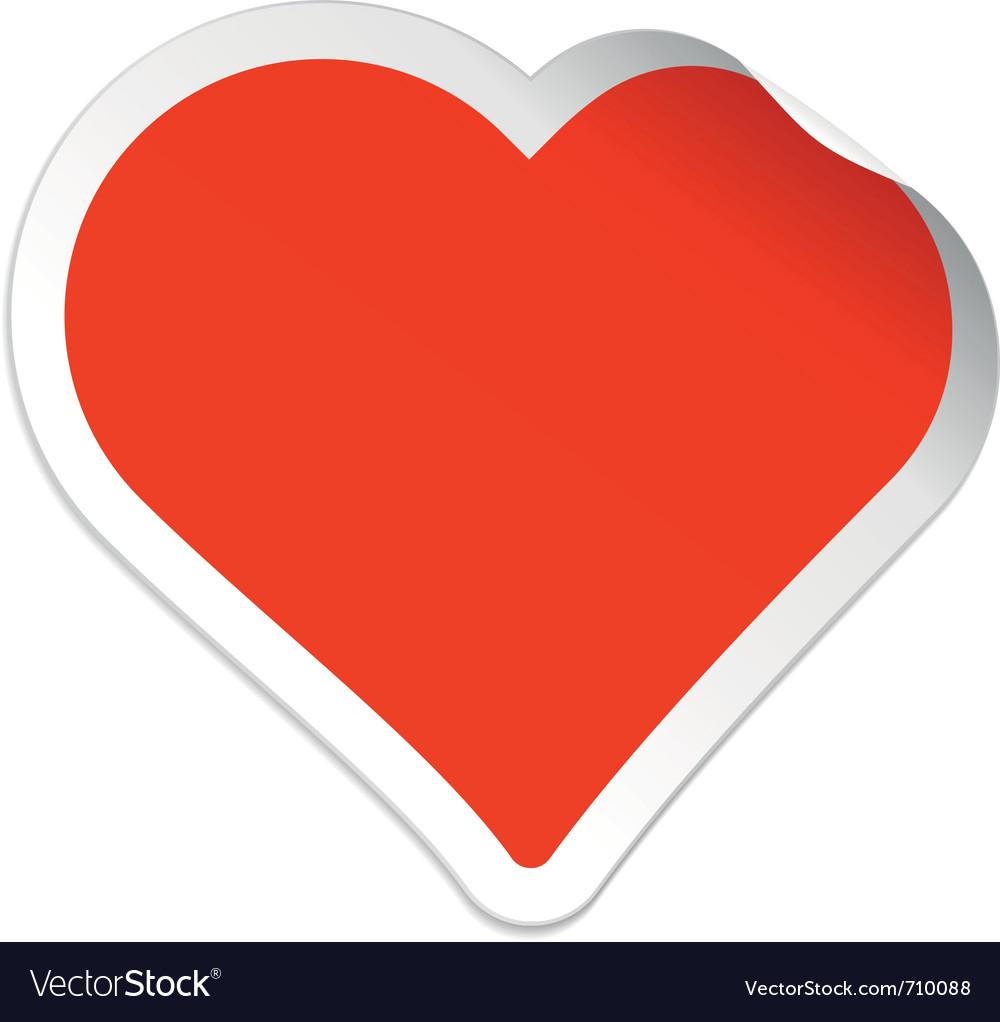 Sticker heart vector | Price: 1 Credit (USD $1)