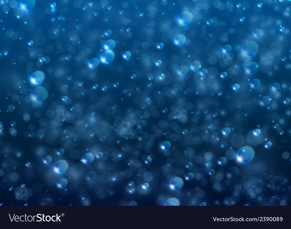 Abstract bubble water vector | Price: 1 Credit (USD $1)