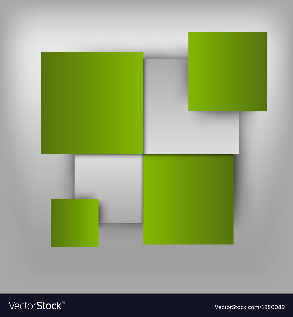 Business squares light green vector | Price: 1 Credit (USD $1)